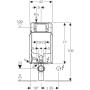 Geberit 110.790.00.1 Combifix flush-mounted box for vase suspended.