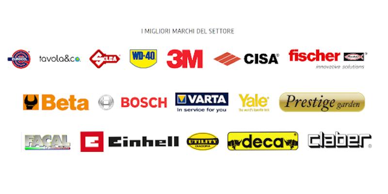 Hardware. Brands treated.